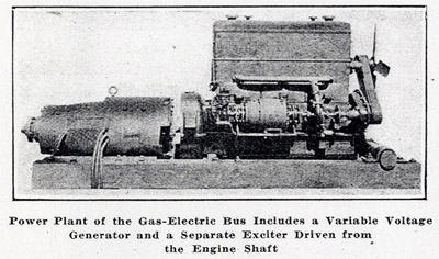 generator coupled to 468 cubic inch gasoline engine