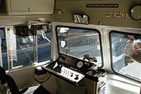 operator's seat and controls