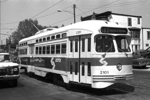 GOH PCC 2101 on Erie Ave.