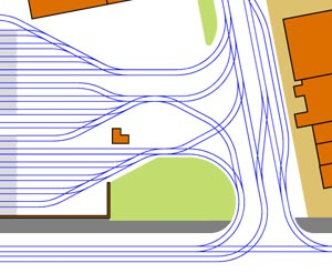 Luzerne track map
