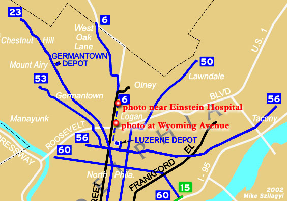 North Phila trolley network