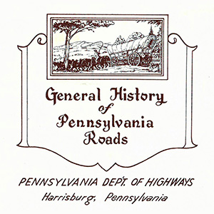 General History of Pennsylvania Roads index page