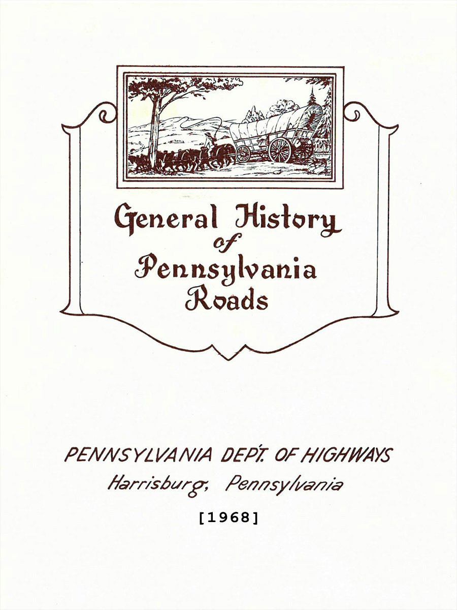 General History of PA Roads