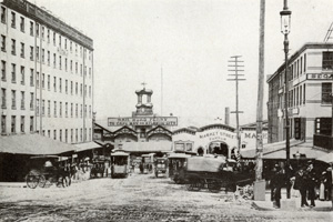 1884 Market St cable cars