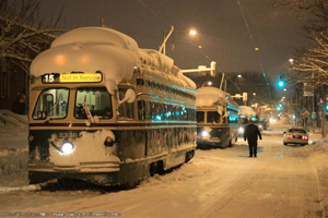 snowbound trolleys